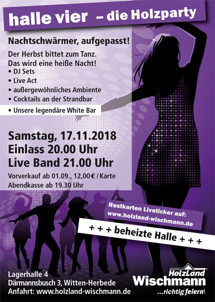 Holzparty<br>2018