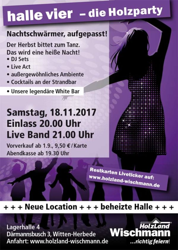 Holzparty 2017